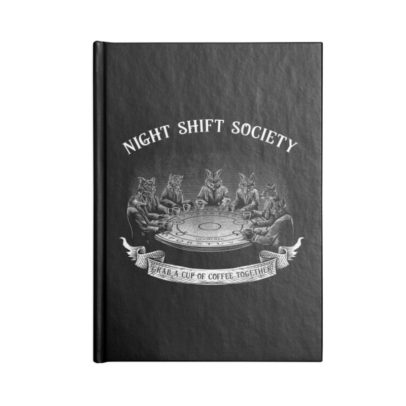 Night Shift Society Accessories Lined Journal Notebook by kooky love's Artist Shop