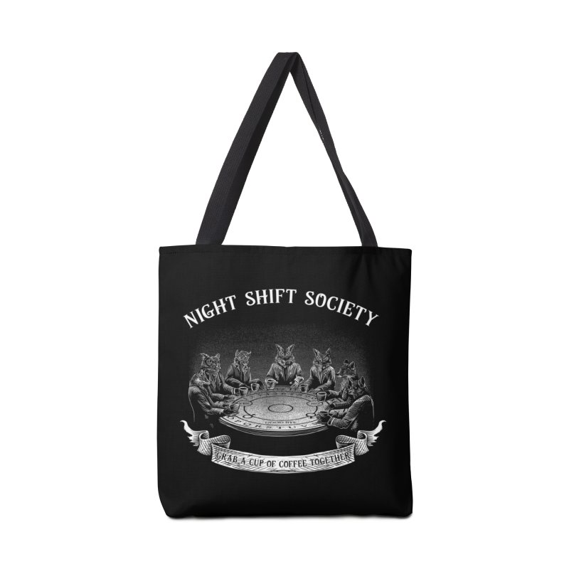 Night Shift Society Accessories Tote Bag Bag by kooky love's Artist Shop