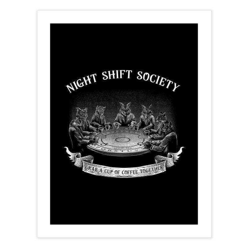 Night Shift Society Home Fine Art Print by kooky love's Artist Shop