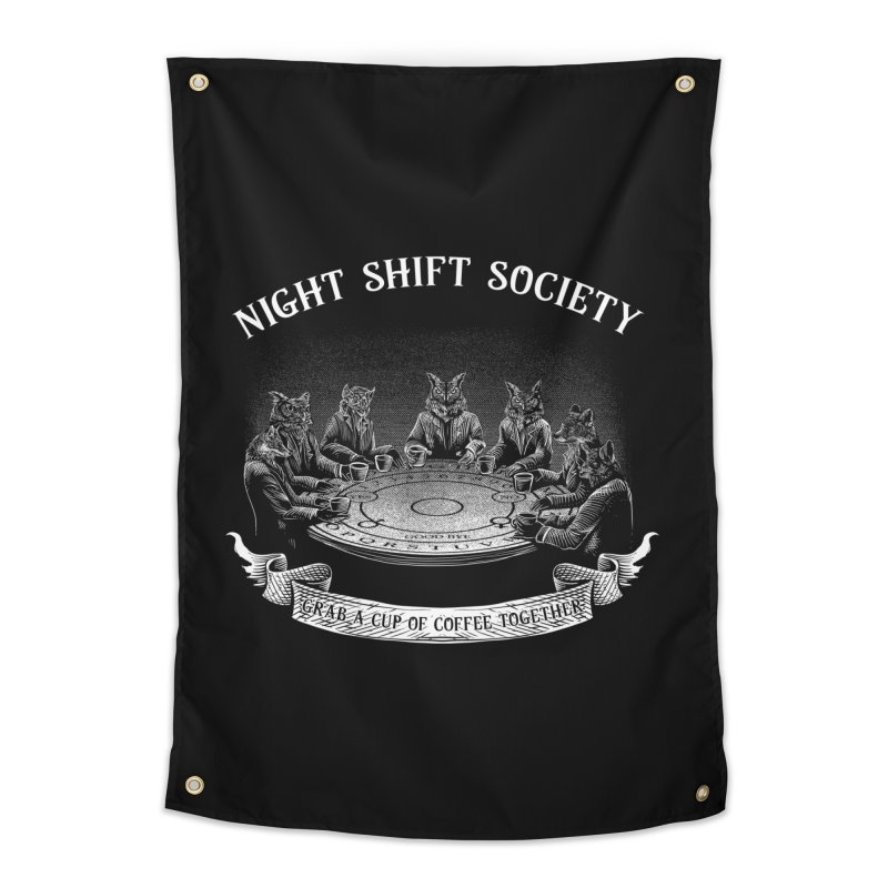 Night Shift Society Home Tapestry by kooky love's Artist Shop