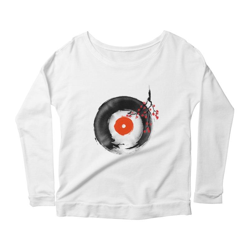 The Escape Women's Scoop Neck Longsleeve T-Shirt by kooky love's Artist Shop