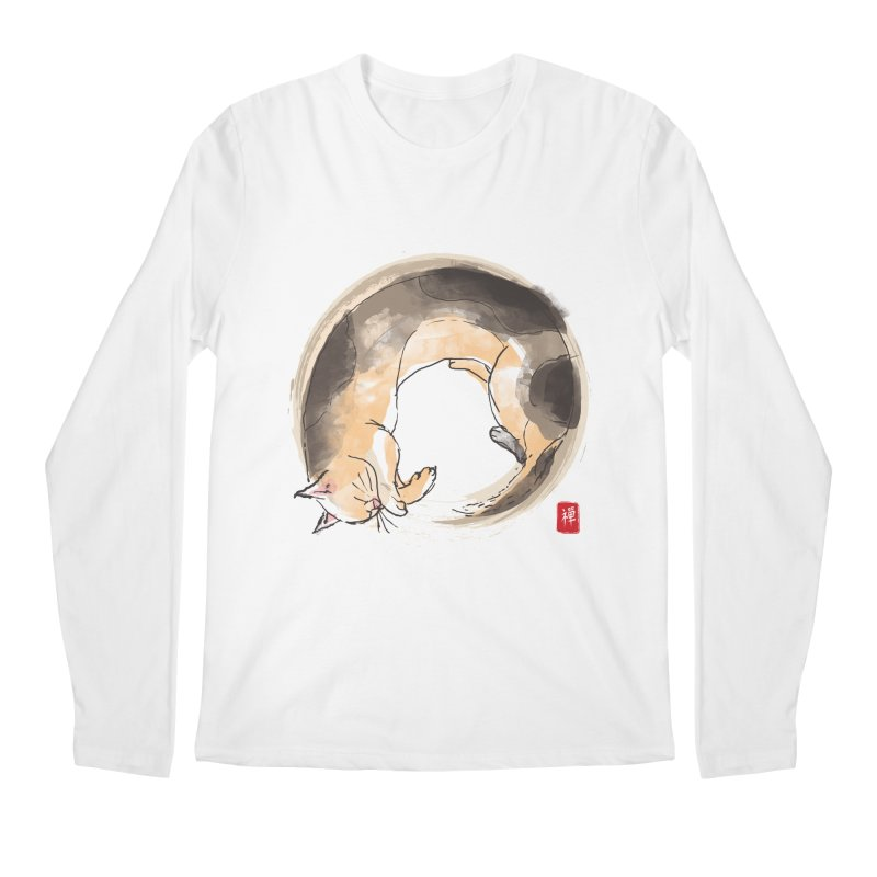 Sleeping is my zen Men's Regular Longsleeve T-Shirt by kooky love's Artist Shop
