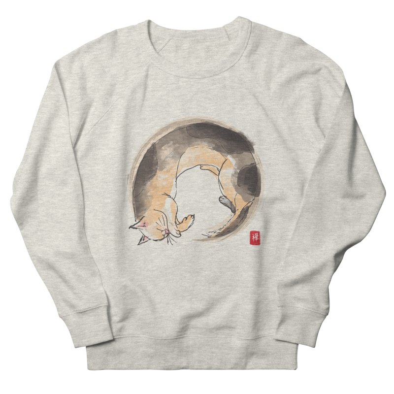 Sleeping is my zen Women's French Terry Sweatshirt by kooky love's Artist Shop