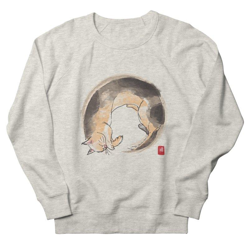Sleeping is my zen Men's French Terry Sweatshirt by kooky love's Artist Shop