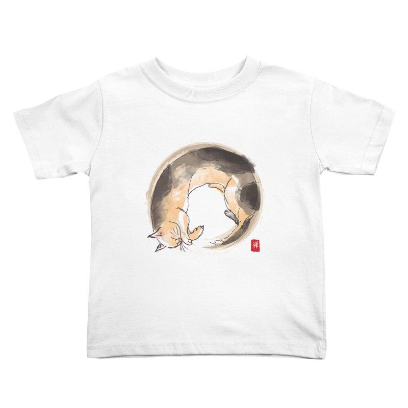 Sleeping is my zen Kids Toddler T-Shirt by kooky love's Artist Shop