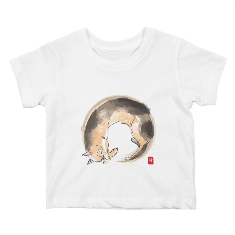 Sleeping is my zen Kids Baby T-Shirt by kooky love's Artist Shop