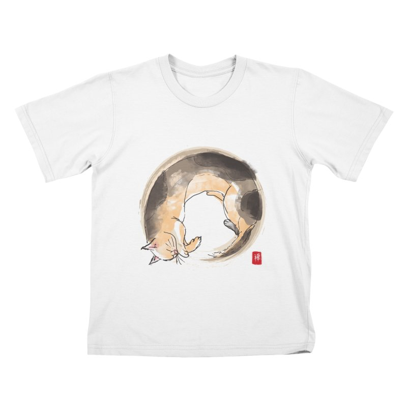 Sleeping is my zen Kids T-Shirt by kooky love's Artist Shop