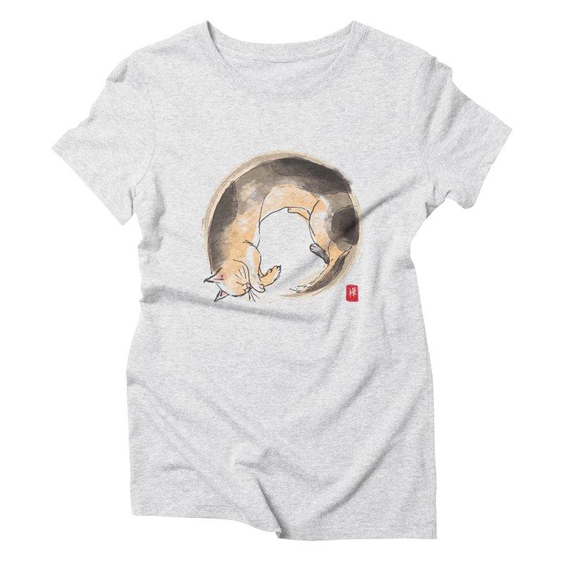 Sleeping is my zen Women's Triblend T-Shirt by kooky love's Artist Shop