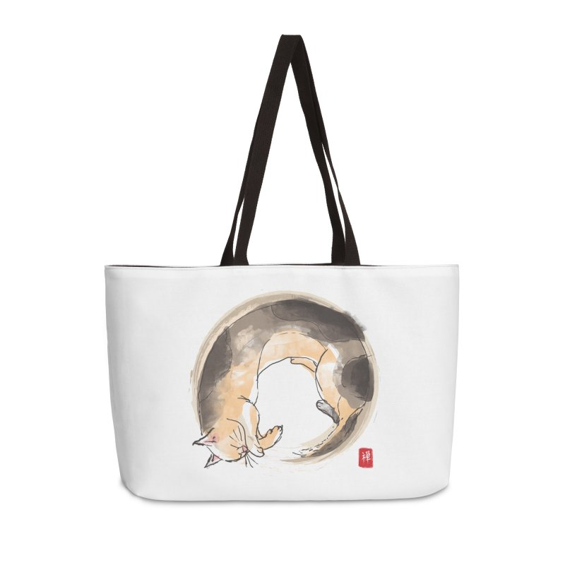 Sleeping is my zen Accessories Bag by kooky love's Artist Shop