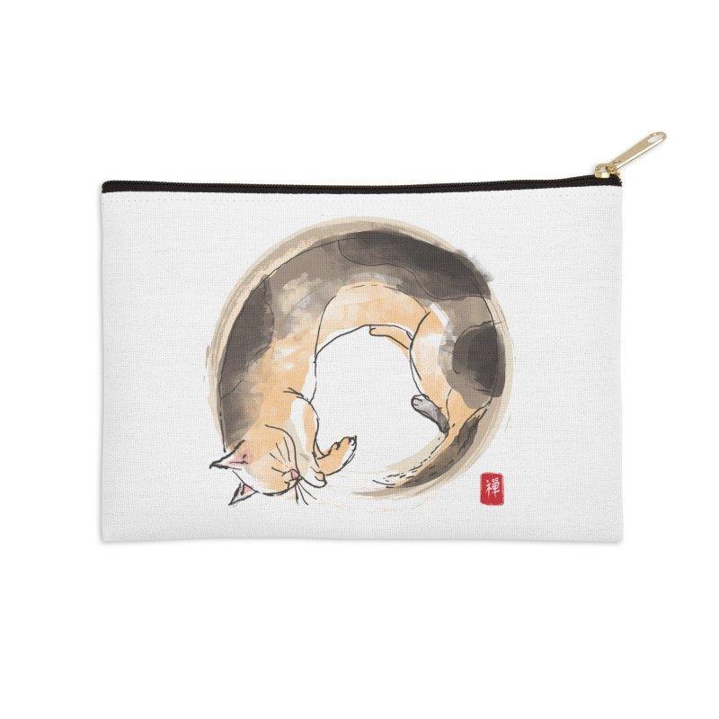 Sleeping is my zen Accessories Zip Pouch by kooky love's Artist Shop