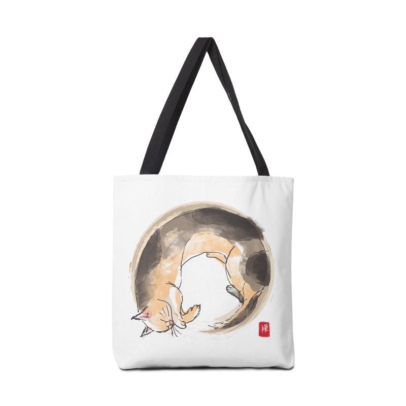 Sleeping is my zen Accessories Tote Bag Bag by kooky love's Artist Shop