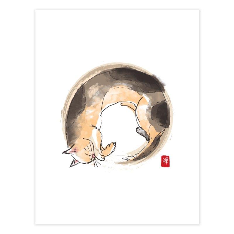 Sleeping is my zen Home Fine Art Print by kooky love's Artist Shop