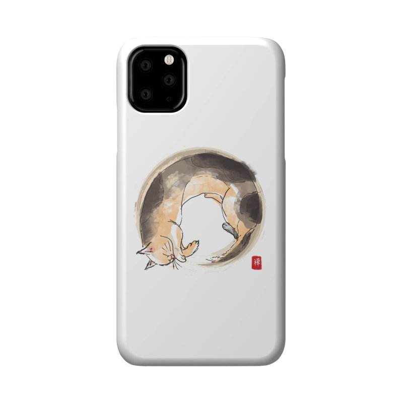 Sleeping is my zen Accessories Phone Case by kooky love's Artist Shop