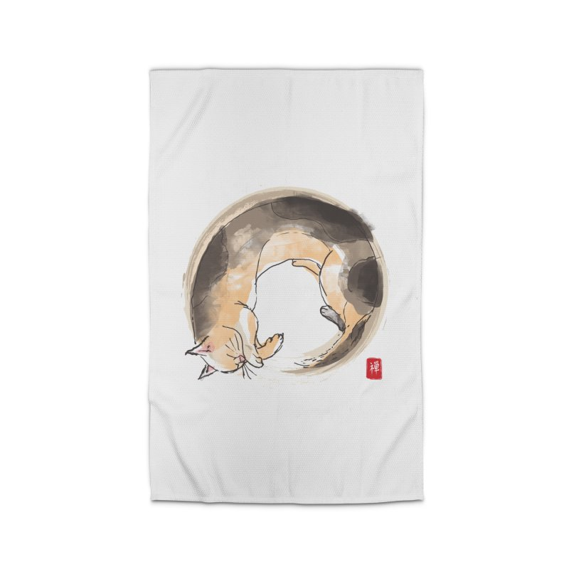 Sleeping is my zen Home Rug by kooky love's Artist Shop