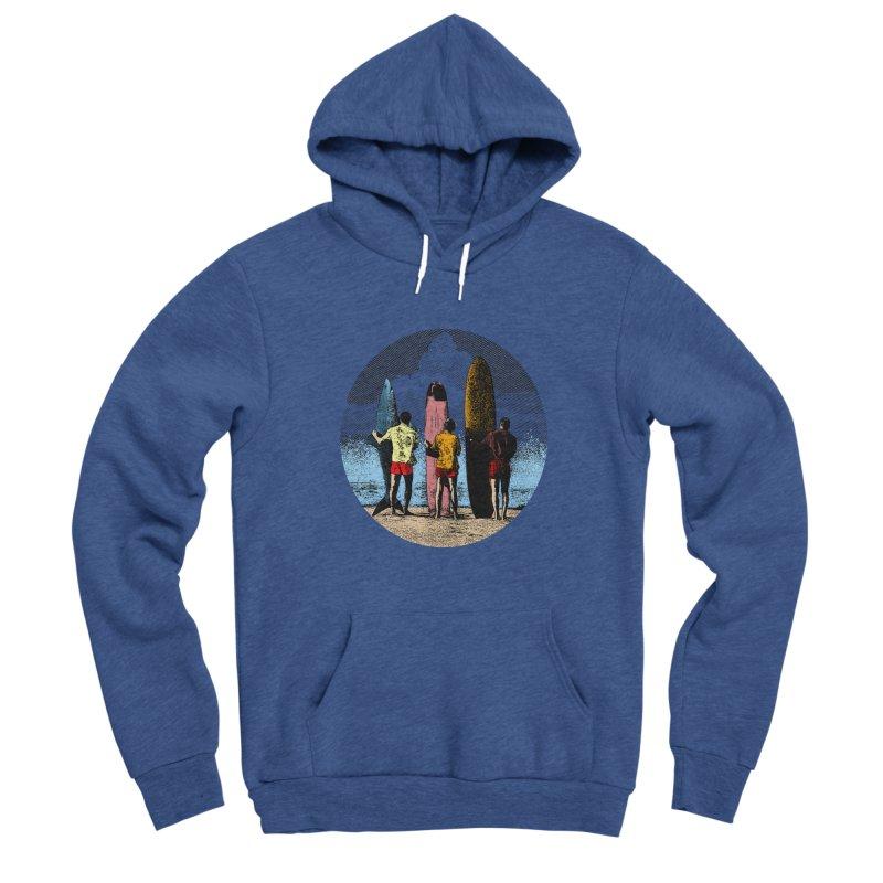 Shark Surfer Men's Pullover Hoody by kooky love's Artist Shop