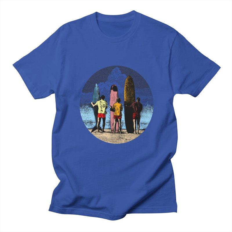 Shark Surfer Men's T-Shirt by kooky love's Artist Shop