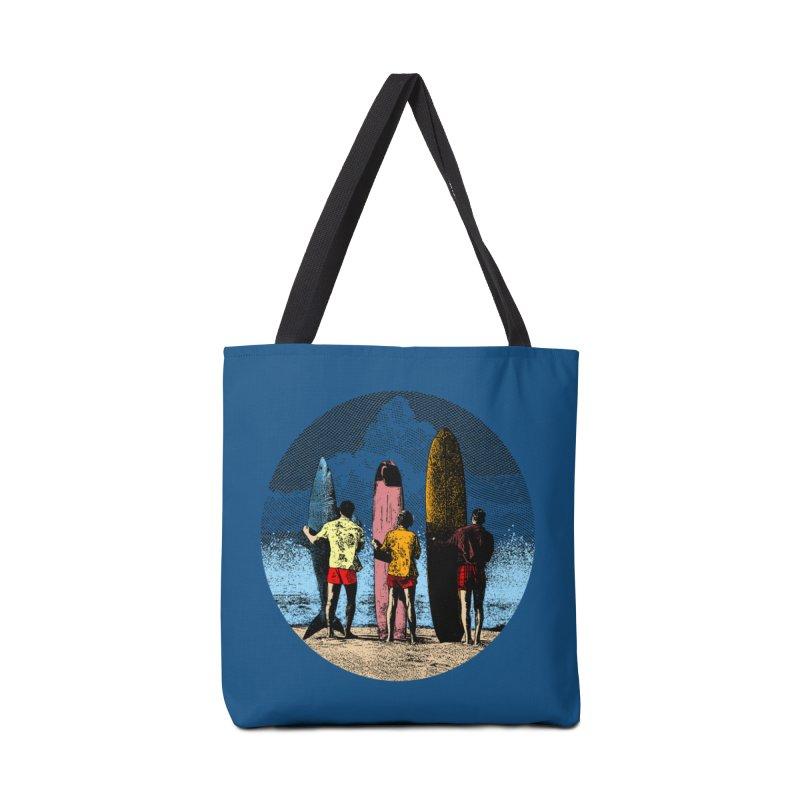 Shark Surfer Accessories Tote Bag Bag by kooky love's Artist Shop