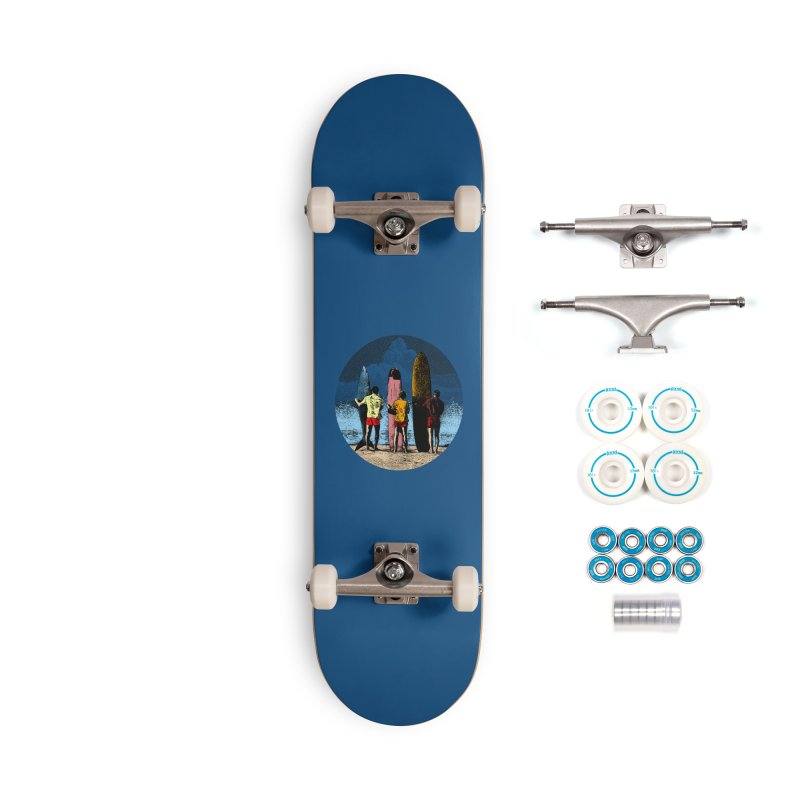 Shark Surfer Accessories Complete - Basic Skateboard by kooky love's Artist Shop
