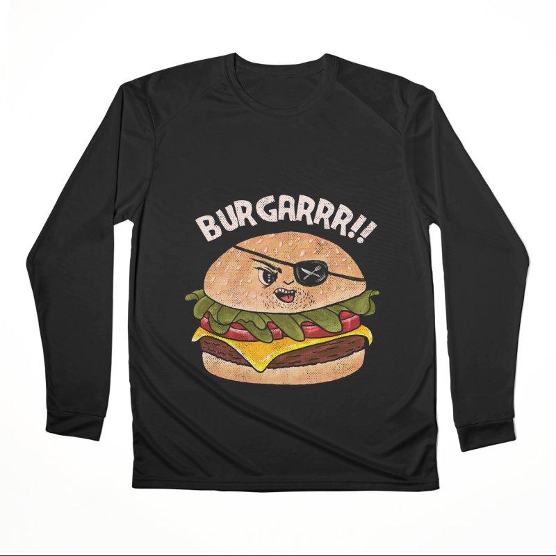 BURGARRR! Women's Performance Unisex Longsleeve T-Shirt by kooky love's Artist Shop