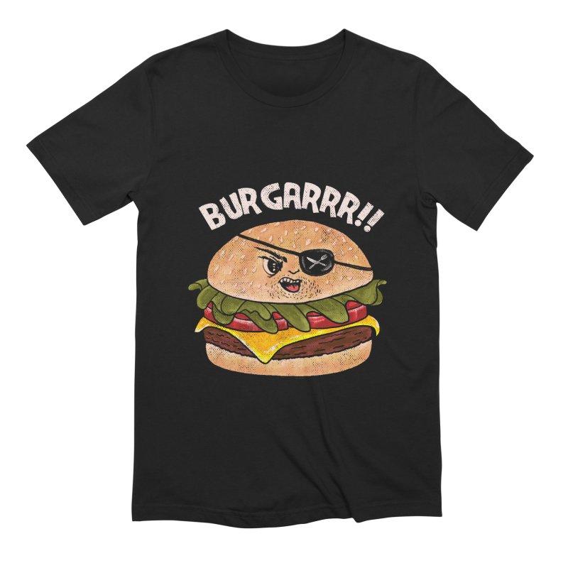 BURGARRR! Men's Extra Soft T-Shirt by kooky love's Artist Shop