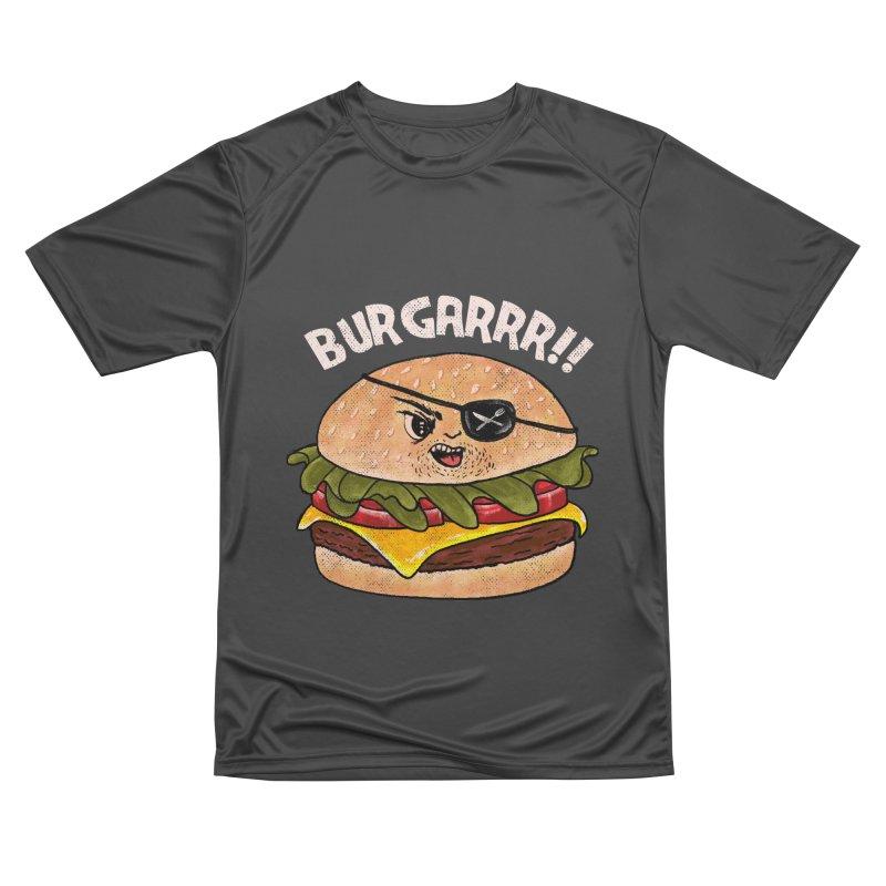 BURGARRR! Men's Performance T-Shirt by kooky love's Artist Shop