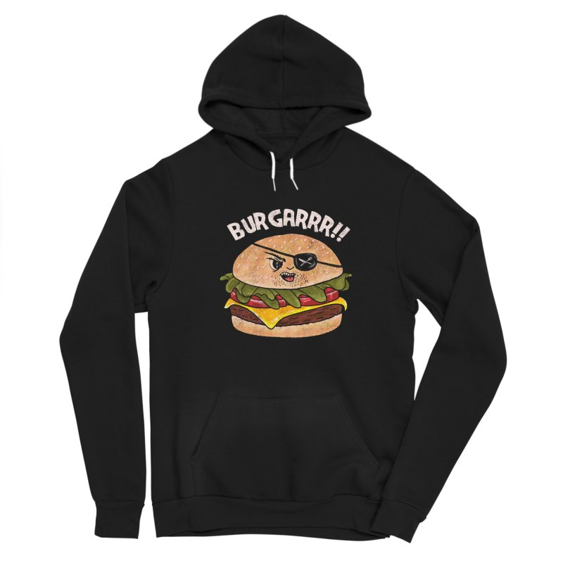 BURGARRR! Men's Pullover Hoody by kooky love's Artist Shop