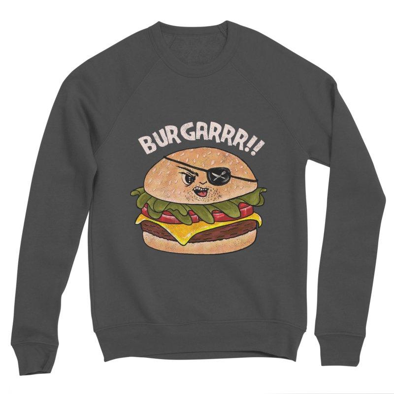 BURGARRR! Men's Sponge Fleece Sweatshirt by kooky love's Artist Shop