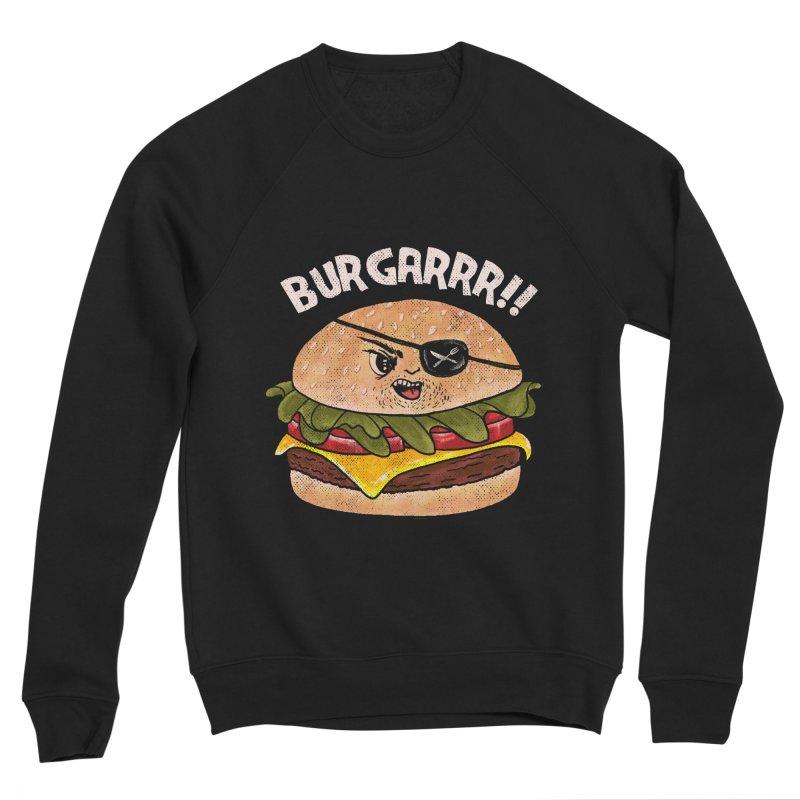 BURGARRR! Women's Sponge Fleece Sweatshirt by kooky love's Artist Shop