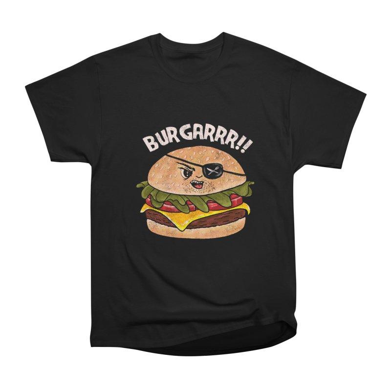 BURGARRR! Men's Heavyweight T-Shirt by kooky love's Artist Shop