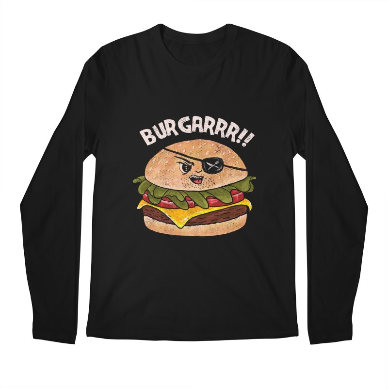 BURGARRR! Men's Regular Longsleeve T-Shirt by kooky love's Artist Shop