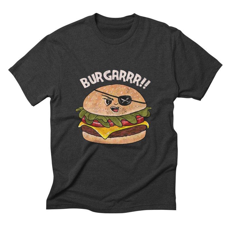BURGARRR! Men's Triblend T-Shirt by kooky love's Artist Shop