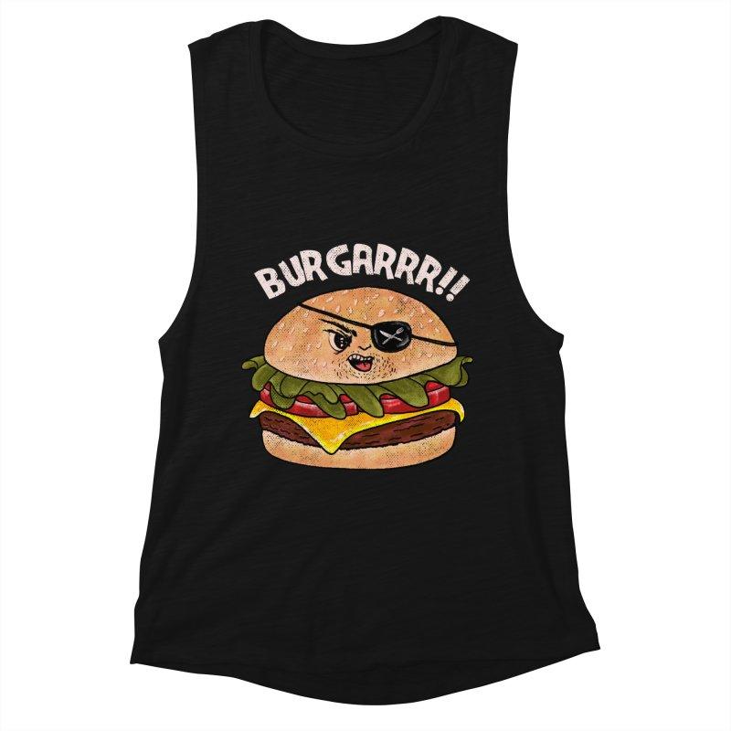 BURGARRR! Women's Muscle Tank by kooky love's Artist Shop
