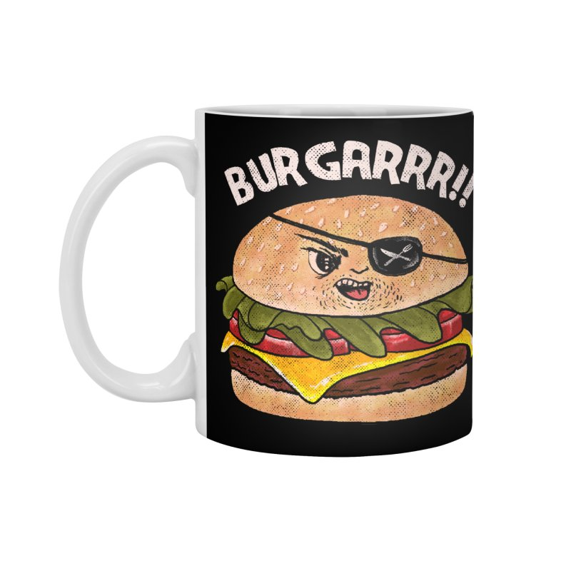 BURGARRR! Accessories Standard Mug by kooky love's Artist Shop