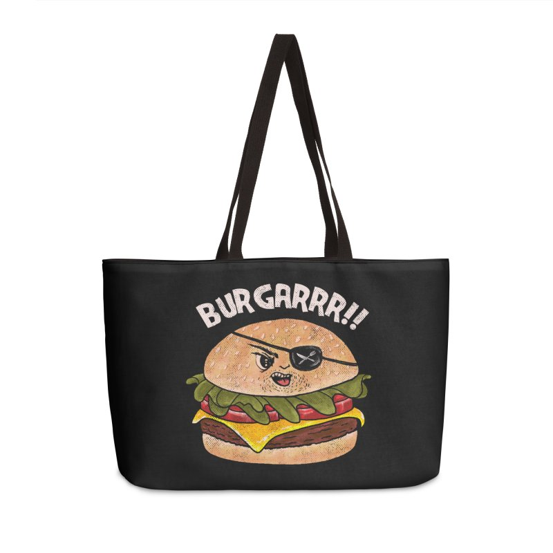 BURGARRR! Accessories Weekender Bag Bag by kooky love's Artist Shop