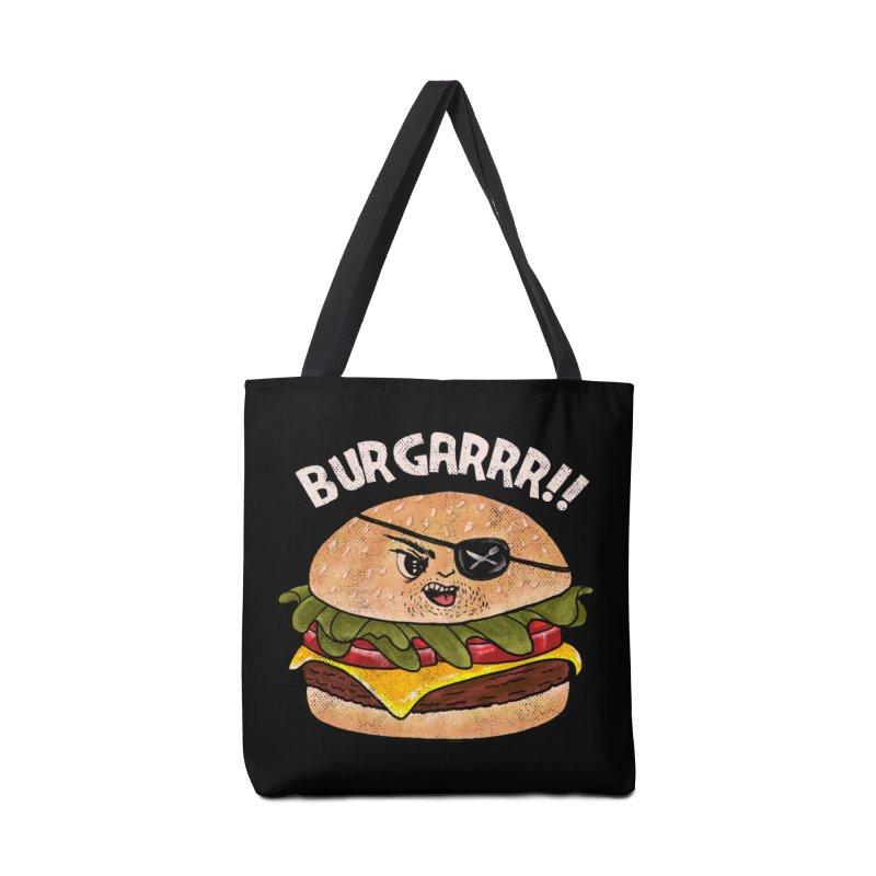 BURGARRR! Accessories Tote Bag Bag by kooky love's Artist Shop