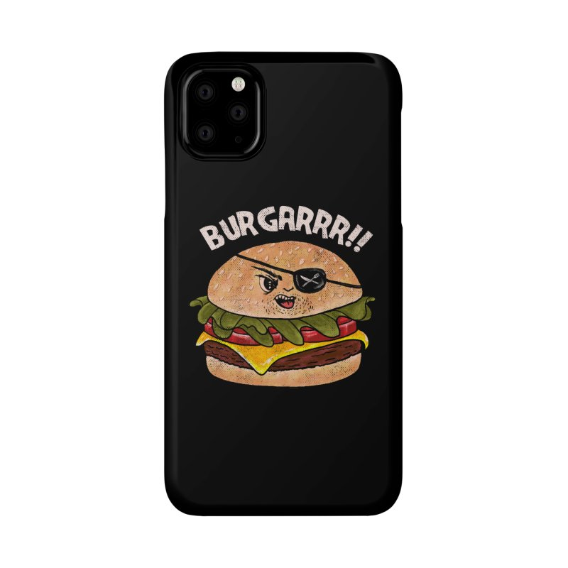 BURGARRR! Accessories Phone Case by kooky love's Artist Shop