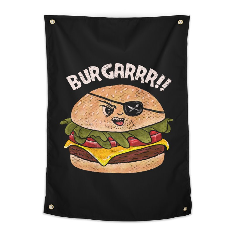 BURGARRR! Home Tapestry by kooky love's Artist Shop