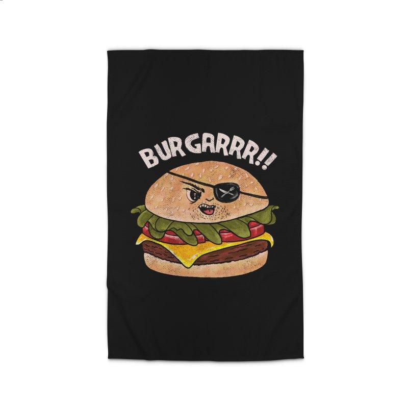 BURGARRR! Home Rug by kooky love's Artist Shop