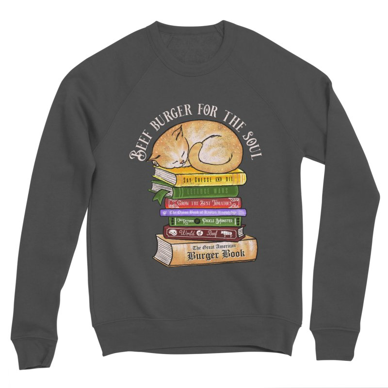Beef Burger for The Soul Women's Sponge Fleece Sweatshirt by kooky love's Artist Shop