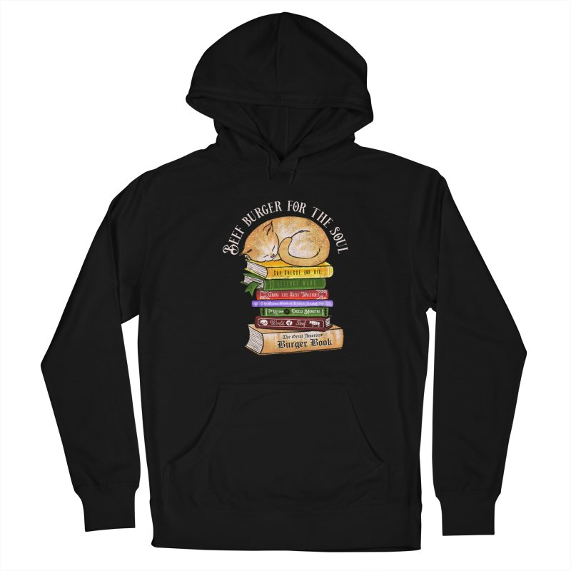 Beef Burger for The Soul Women's French Terry Pullover Hoody by kooky love's Artist Shop