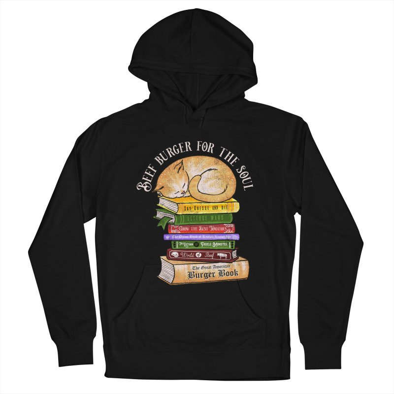 Beef Burger for The Soul Men's French Terry Pullover Hoody by kooky love's Artist Shop