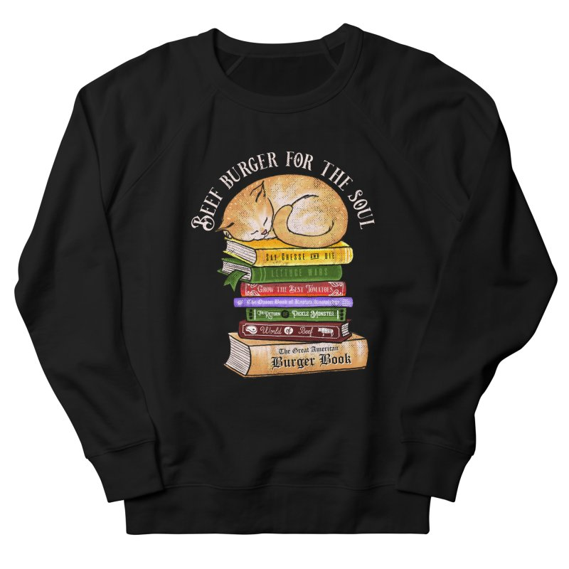 Beef Burger for The Soul Women's French Terry Sweatshirt by kooky love's Artist Shop