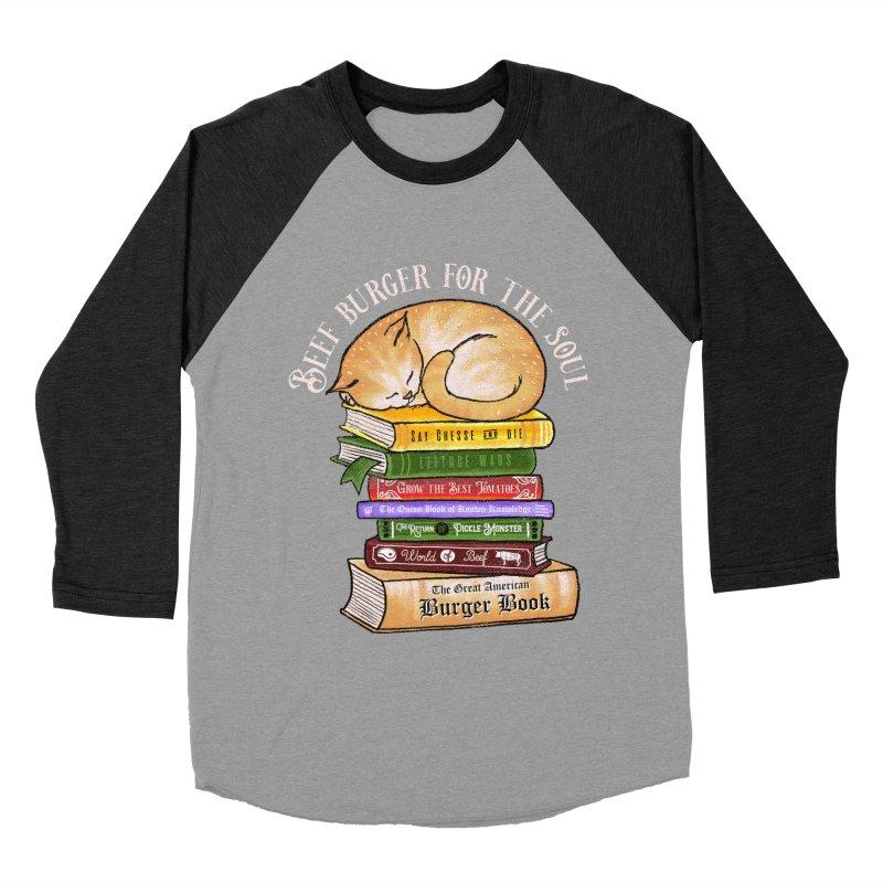 Beef Burger for The Soul Women's Baseball Triblend Longsleeve T-Shirt by kooky love's Artist Shop