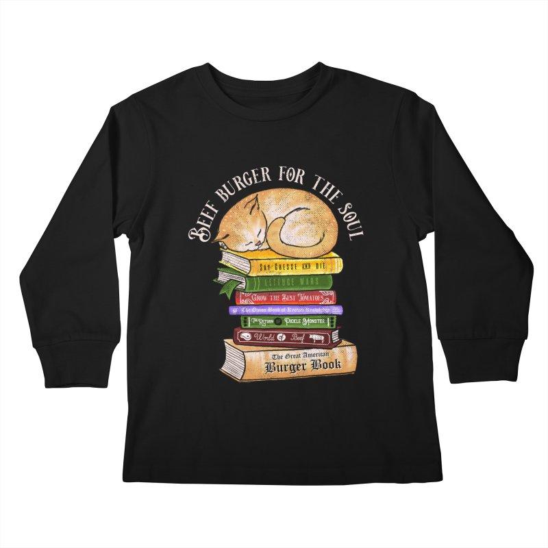 Beef Burger for The Soul Kids Longsleeve T-Shirt by kooky love's Artist Shop