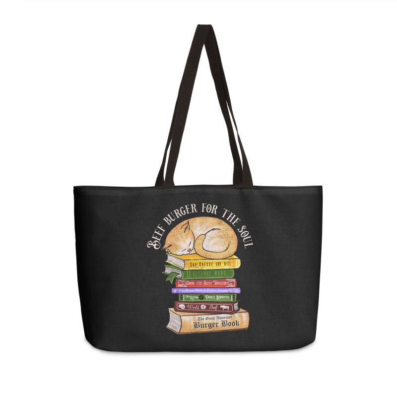 Beef Burger for The Soul Accessories Weekender Bag Bag by kooky love's Artist Shop