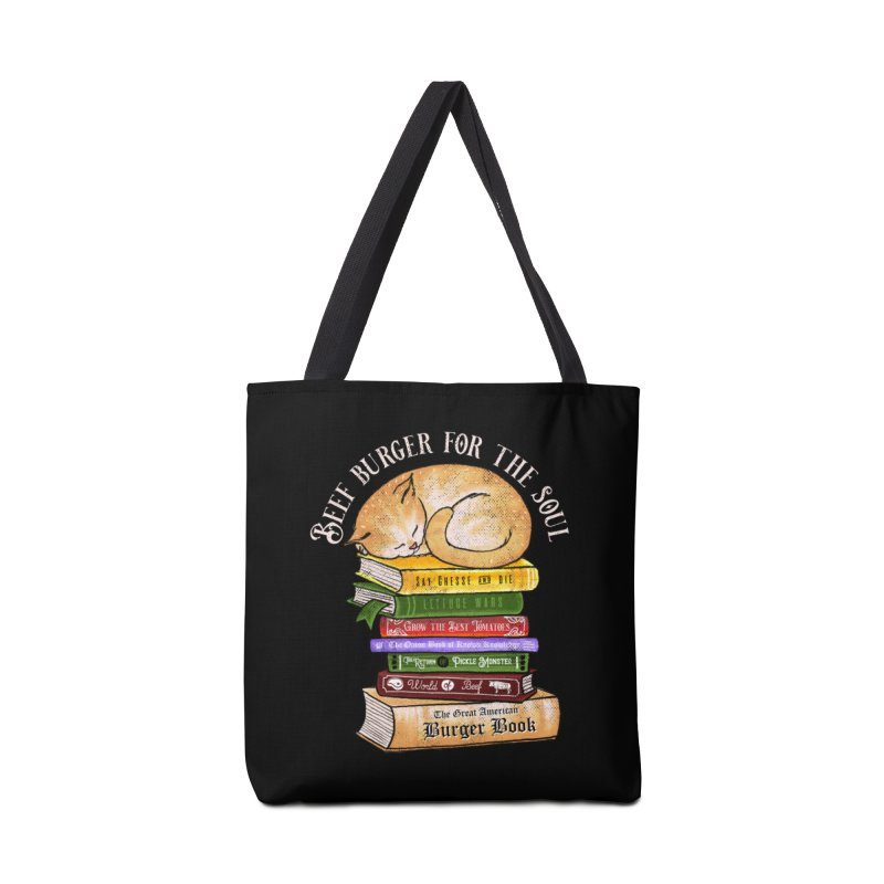 Beef Burger for The Soul Accessories Tote Bag Bag by kooky love's Artist Shop