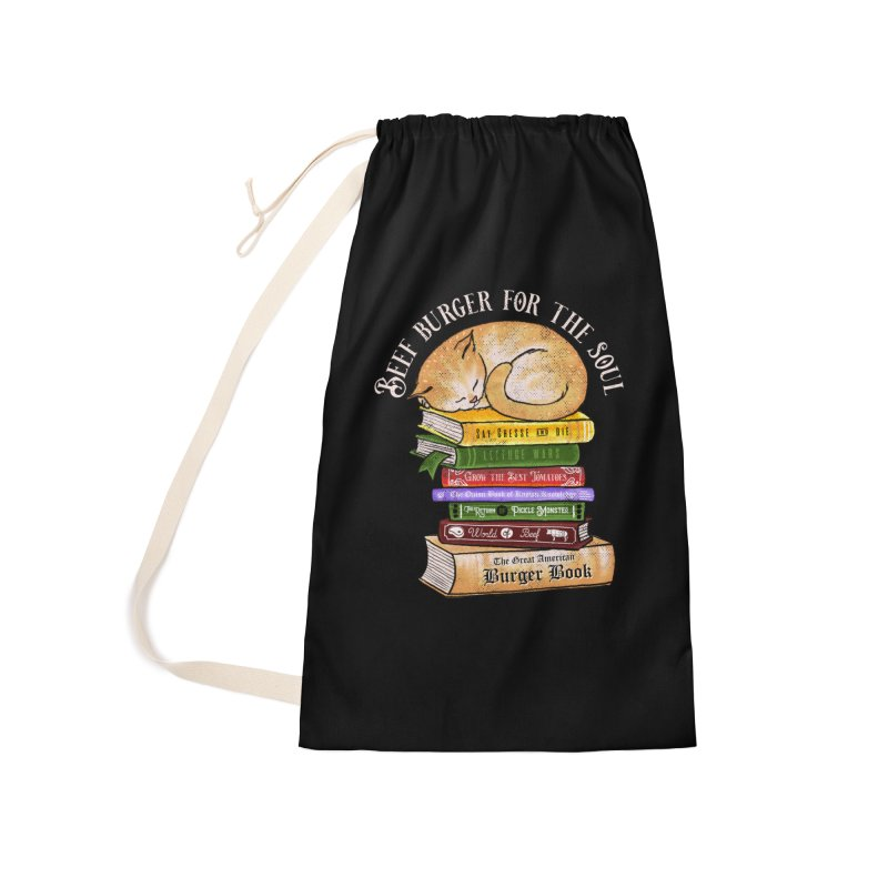 Beef Burger for The Soul Accessories Laundry Bag Bag by kooky love's Artist Shop