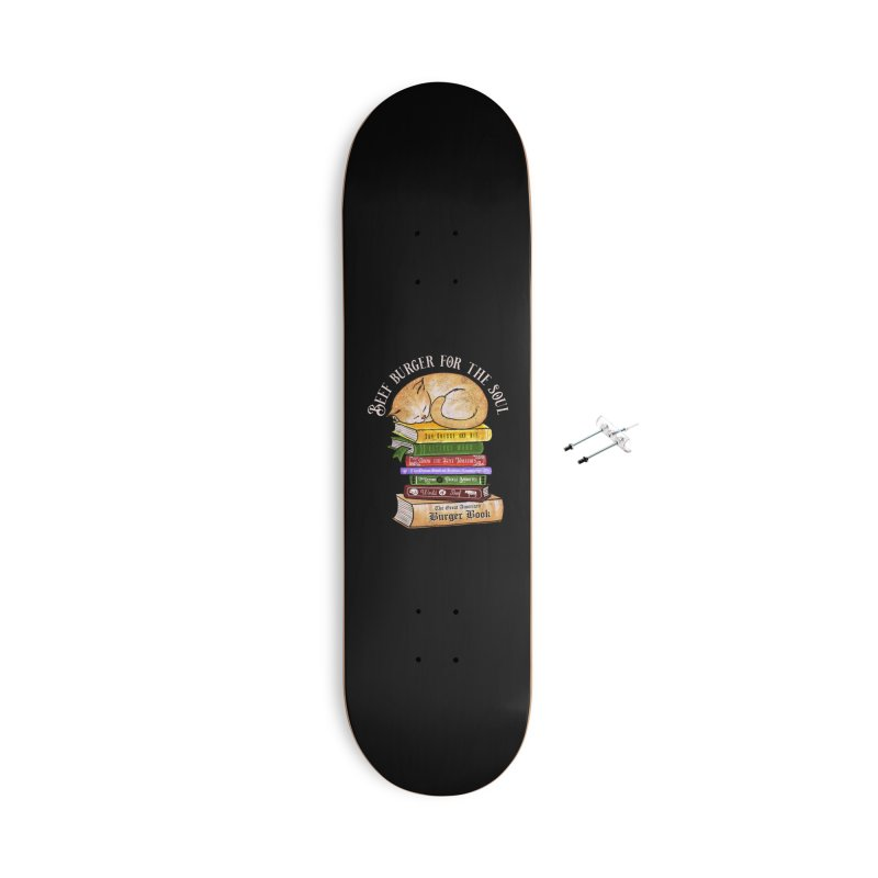 Beef Burger for The Soul Accessories With Hanging Hardware Skateboard by kooky love's Artist Shop