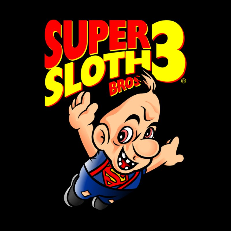 SUPER SLOTH Men's T-Shirt by kooky love's Artist Shop