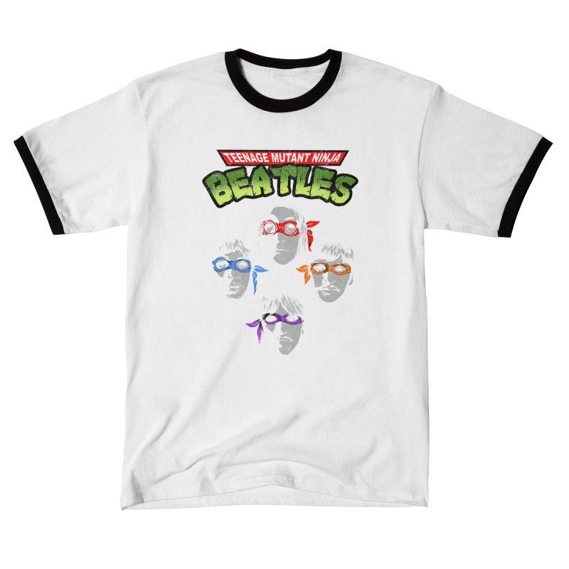 Ninja Beatles Men's T-Shirt by kooky love's Artist Shop